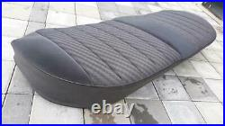 Seat Cover Rear Seat Bench Fabric Black Rear Mercedes W126 1269202546 9049
