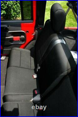 Seat Cover-Unlimited Sport Rear Rugged Ridge 13264.01
