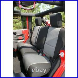 Seat Cover-Unlimited Sport Rear Rugged Ridge 13264.09