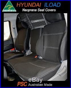 Seat Cover fits Hyundai I-Load Front Bench Bucket Waterproof Premium Neoprene