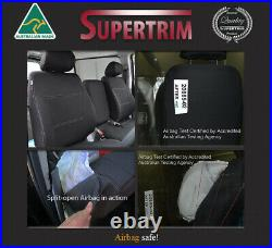 Seat Cover fits Hyundai iLoad (Feb 08 -Now) BUCKET BENCH Front Neoprene