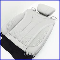 Seat back rear left Mercedes S W222 ventilation SEMIANILIN GRAY