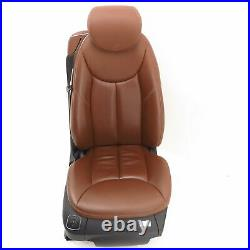 Seat right Mercedes SL R230 RHD Terracotta Sitzheizung elektrisch