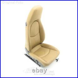 Seat right Porsche CAYMAN 987 07.06- leather sand Beige