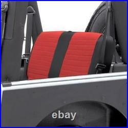 Smittybilt XRC Rear Seat Cover For'07-'13 Jeep Wrangler Unlimited 2 Door 759130