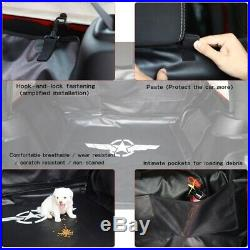 Waterproof Dog Cat Pet Car Seat Cover Hammock Rear Bench Pad Fit Jeep JK JKU 07+